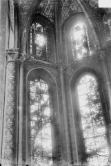 Ancienne collégiale Saint-Quentin - Fenêtre de la chapelle des Sept Douleurs