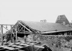 Ancienne collégiale Saint-Quentin - Toiture de la nef