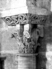 Eglise Notre-Dame la Blanche - Chapiteau du choeur