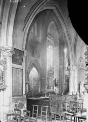 Eglise Saint-Médard - Banc d'oeuvres