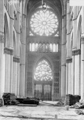 Cathédrale Notre-Dame - Revers du portail ouest