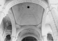 Eglise Saint-Hilaire - Coupole, vue intérieure