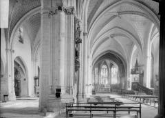 Eglise Saint-Nicolas - Nef et bas-côté nord