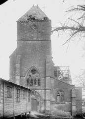 Eglise Saint-Médard - Façade ouest