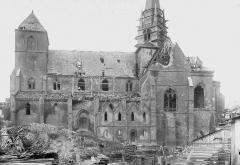Eglise Saint-Médard - Façade sud