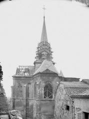 Eglise Saint-Médard - Façade est
