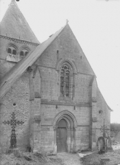 Eglise Sainte-Catherine - Façade ouest