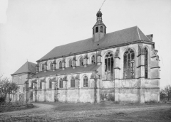 Eglise Sainte-Catherine, dite aussi Eglise Saint-Pierre du Prieuré - Ensemble sud-est