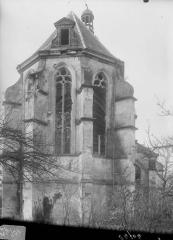 Eglise Sainte-Catherine, dite aussi Eglise Saint-Pierre du Prieuré - Abside