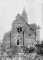 Eglise d'Olizy - Ensemble ouest