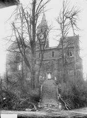 Eglise d'Olizy - Ensemble nord