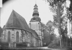 Eglise Saint-Vast d'Agnières - Ensemble nord-est