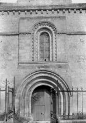 Eglise Notre-Dame et Prieuré - Portail et fenêtre
