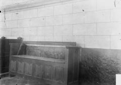 Eglise - Boiseries, banc