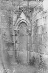 Ancienne abbaye - Eglise, petite arcade extérieure