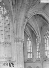 Ancienne abbaye - Eglise, détail, intérieur