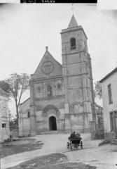 Ancienne église abbatiale, actuellement église paroissiale - Eglise, ensemble ouest