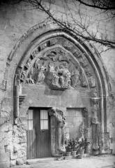 Ancienne église collégiale Saint-Etienne - Portail