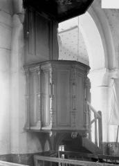 Eglise Saint-Christophe - Chaire