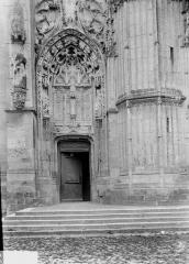 Ancienne abbaye - Eglise, portail latéral