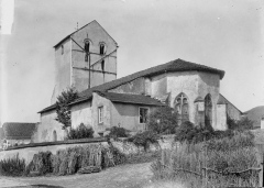 Eglise Saint-Georges et son cimetière - Ensemble sud-est