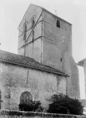Eglise Saint-Georges et son cimetière - Clocher
