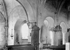 Eglise Saint-Georges et son cimetière - Vue diagonale