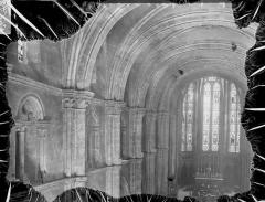 Eglise Saint-Maurice - Nef, vue de l'entrée
