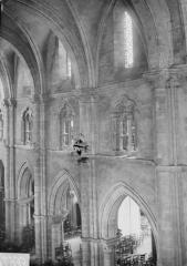 Eglise Saint-Maurice - Triforium et voûtes