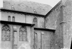 Abbaye - Eglise, façade latérale