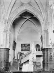 Abbaye - Eglise, travée nord