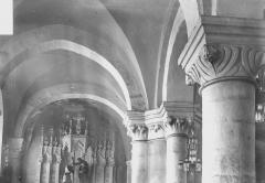 Abbaye - Eglise, chapiteaux sud