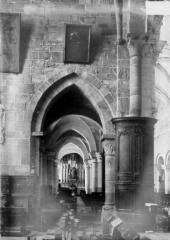 Abbaye - Eglise, bas-côté