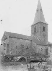 Eglise Saint-Evre - Ensemble sud