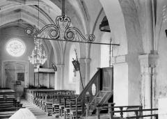 Eglise Saint-Evre - Nef, vue du choeur