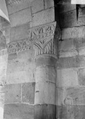 Cathédrale et cloître - Chapiteau