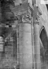 Petite église attenant à la cathédrale (Eglise Notre-Dame) - Chapiteau
