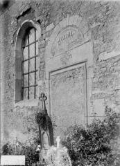 Eglise - Portail condamné