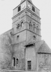 Eglise - Clocher, côté sud-est