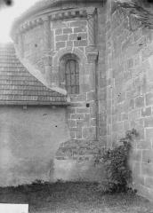 Eglise - Abside, au nord