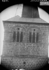Eglise - Clocher, fenêtre