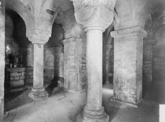 Eglise - Crypte, intérieur