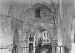 Eglise - Nef, vue de la tribune