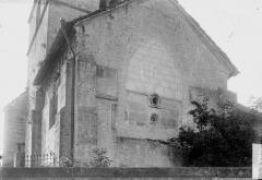 Eglise - Mur terminal