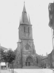 Eglise Sainte-Libaire - Façade latérale