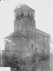 Eglise - Abside et clocher