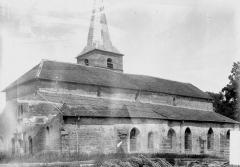 Eglise de la Sainte-Trinité, à Saint-Ouen - Façade latérale