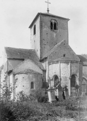 Eglise Saint-Martin - Abside et clocher