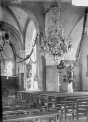Eglise Saint-Martin - Nef, vue diagonale
