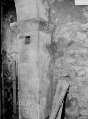 Eglise de Blanzey - Pilastre